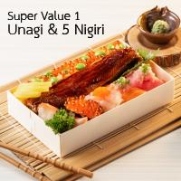 Super Value1 Unagi & 5 Nigiri